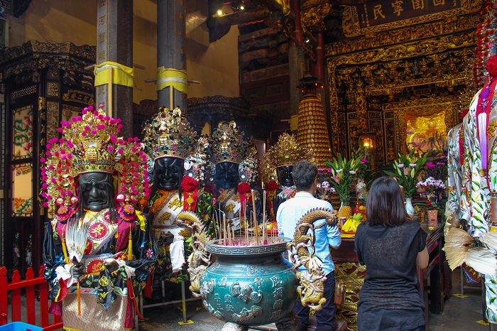 Inside of Qingshan Temple