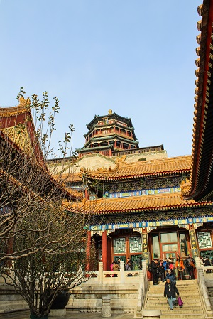 Tower of Buddhist Incense - Summer Palace