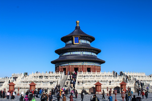 Altar of Prayer for Good Harvests, Temple of Heaven